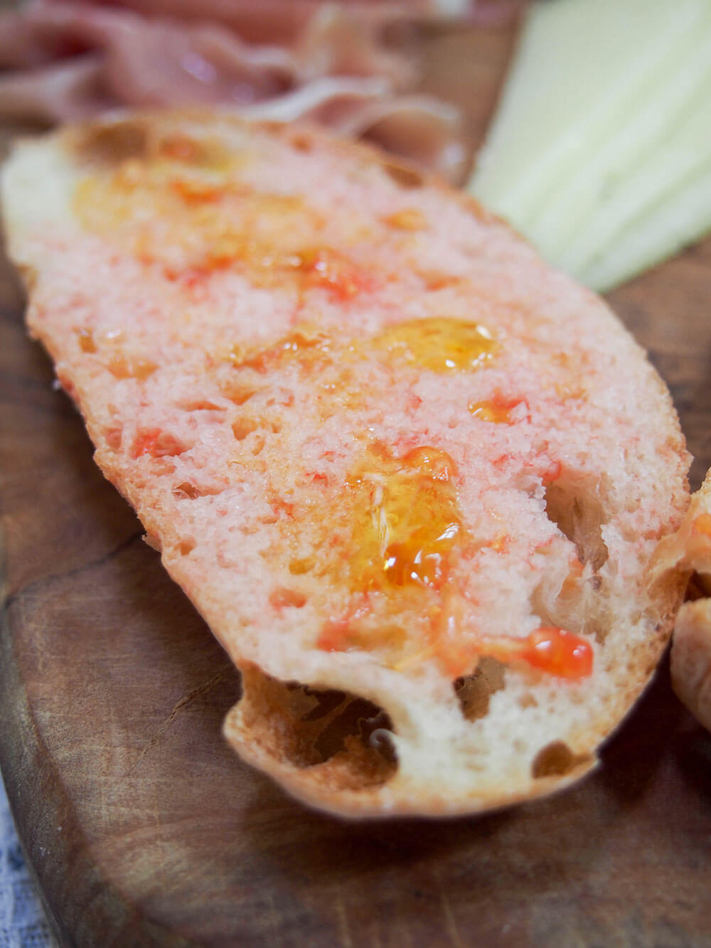 pan con tomate Catalan style