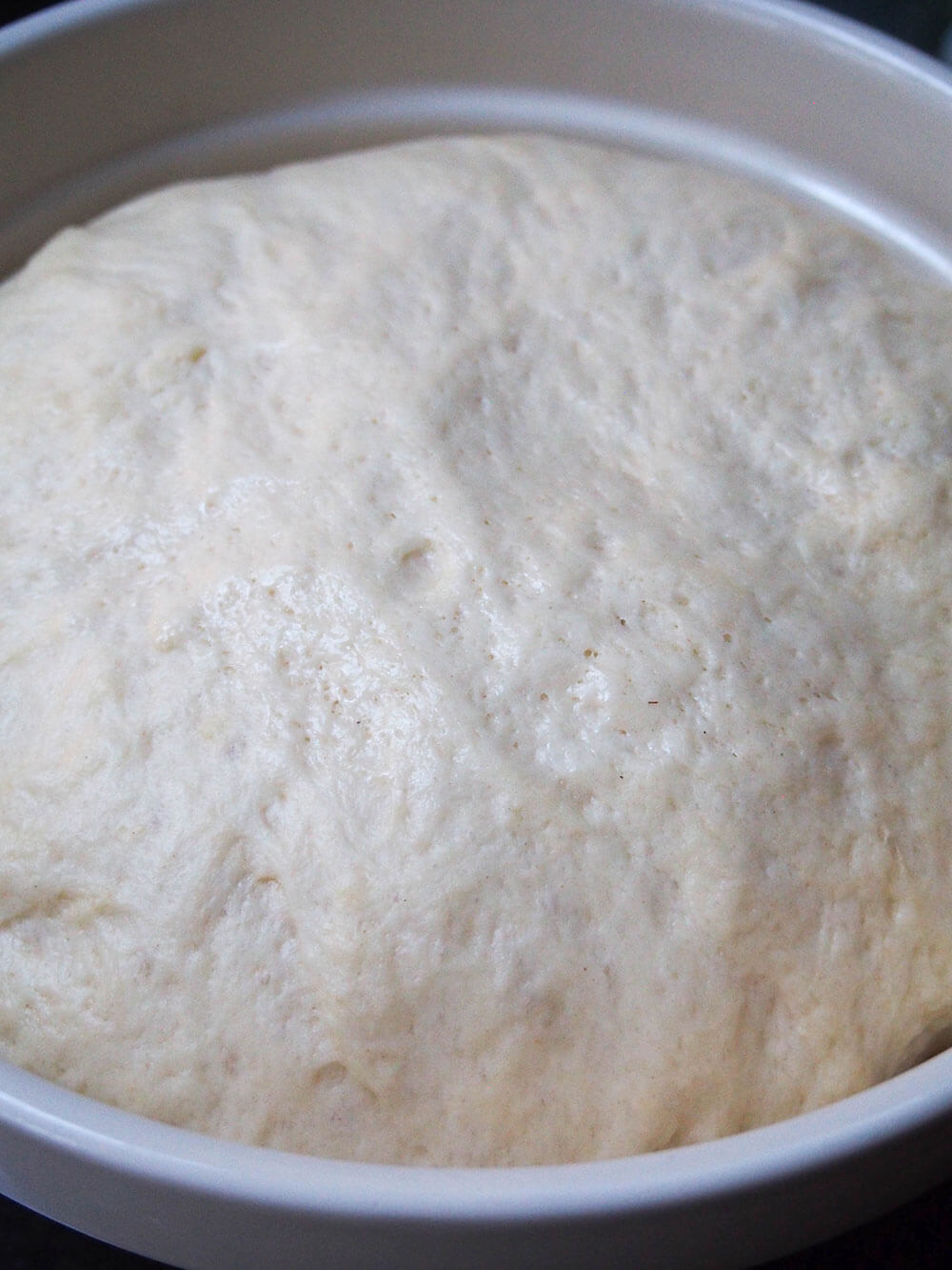 eggnog cinnamon rolls dough