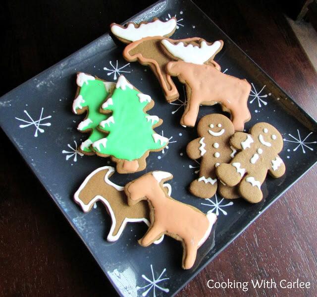 German gingerbread cookies