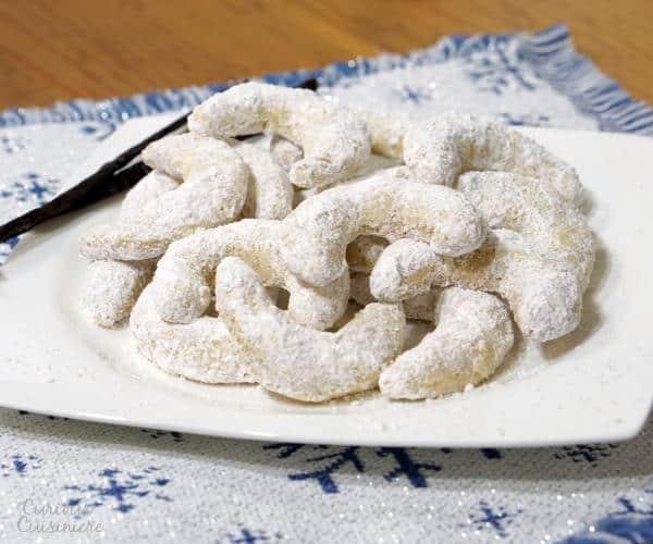 vanillekipferl cookies