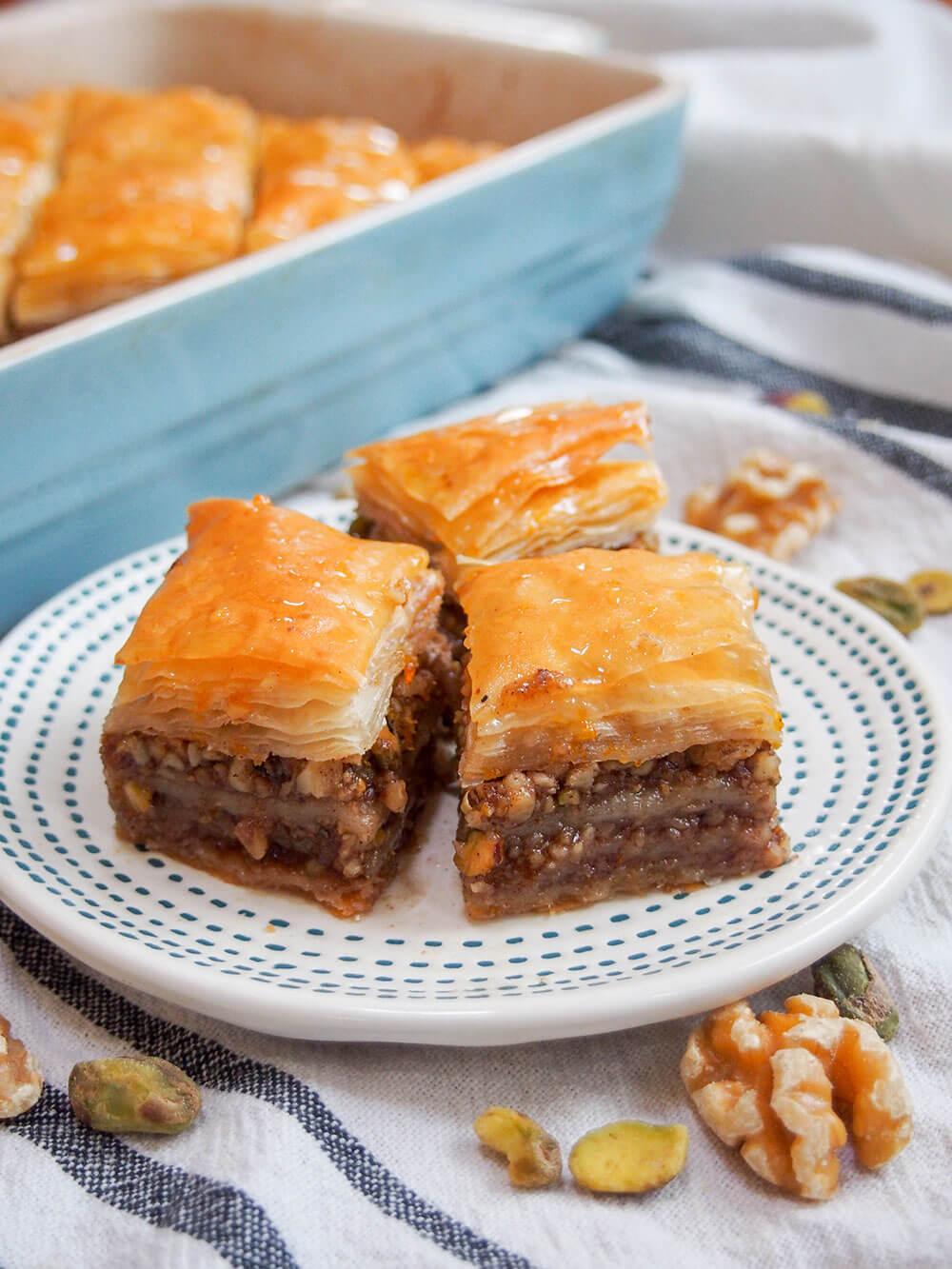 Baklava Recipe Caroline S Cooking