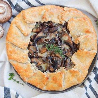 mushroom galette