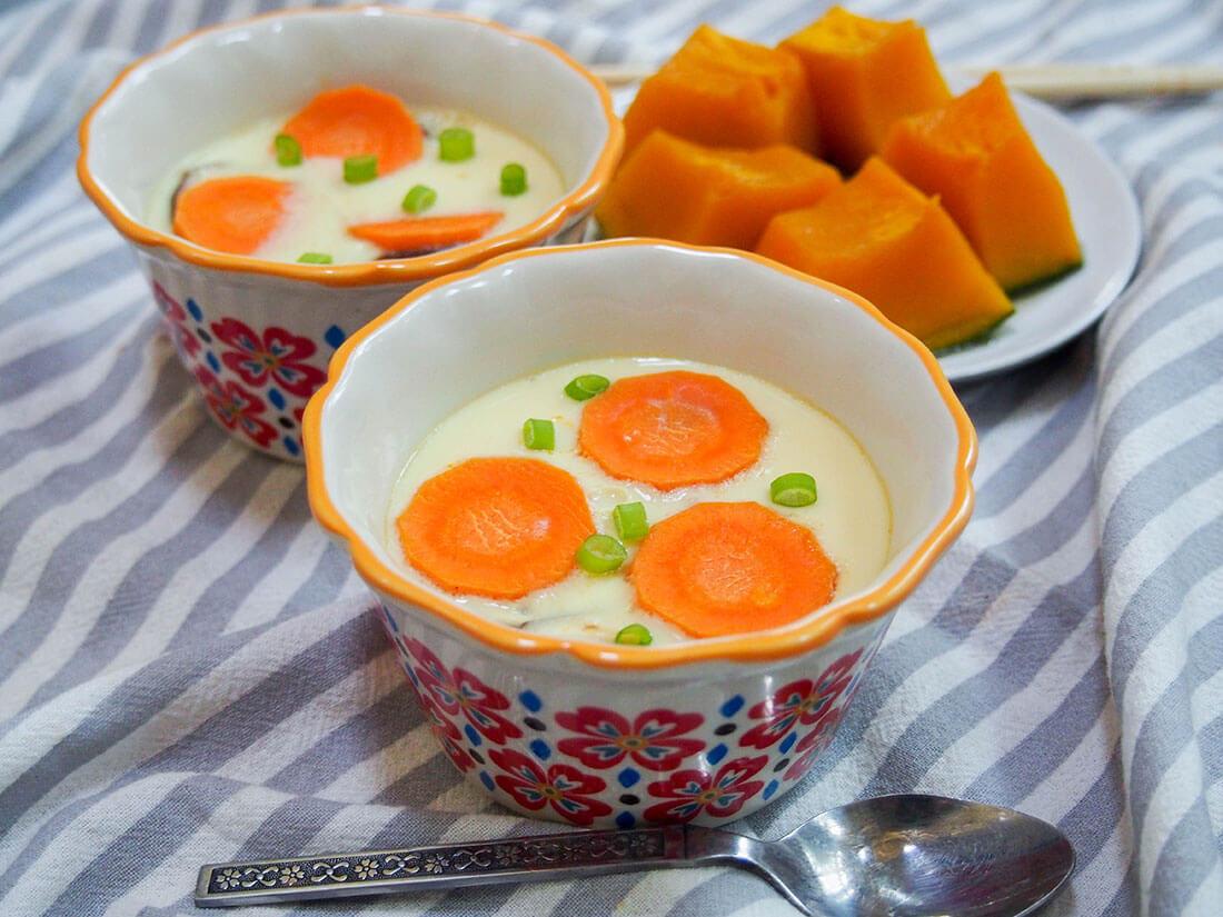 Chawanmushi Japanese Savory Egg Custard Caroline S Cooking