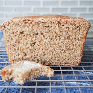 sprouted wheat bread loaf