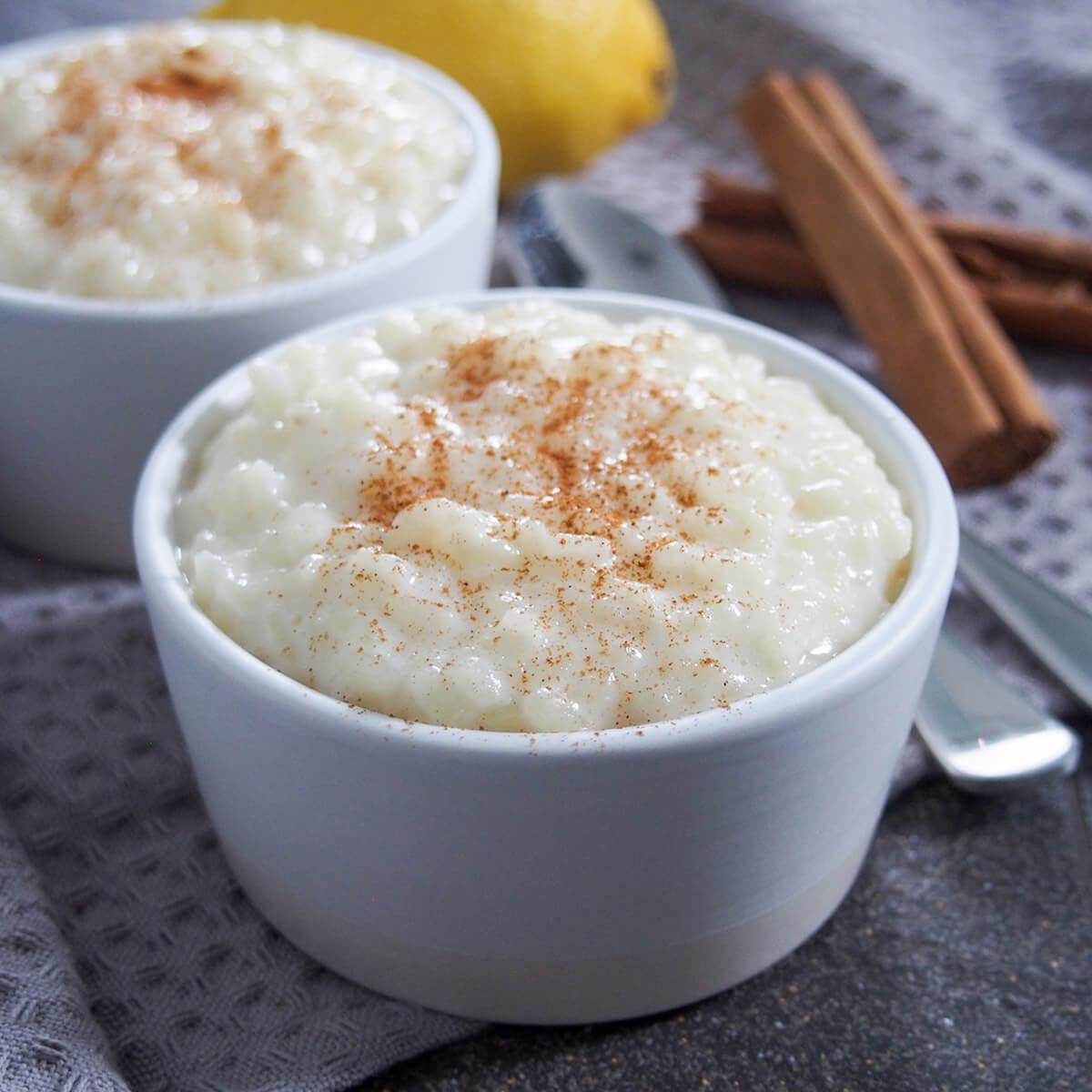 Arroz con leche (Spanish rice pudding)