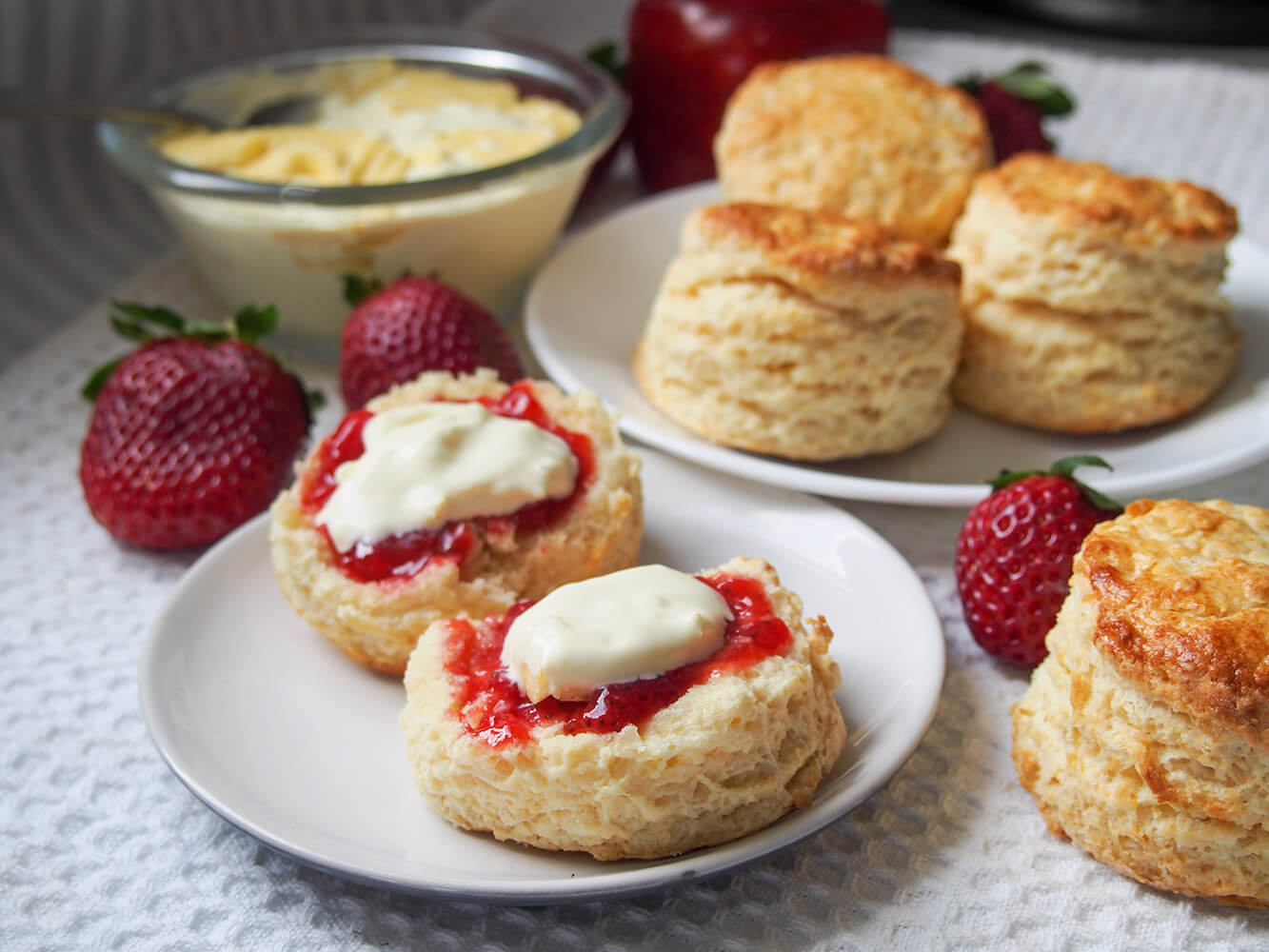British scones - Caroline's Cooking